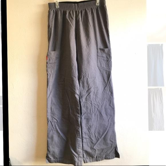 Pants - Dickies grey scrub pants